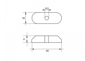 Zinc Anode for Suzuki Outboard DT 2.2 - DT5