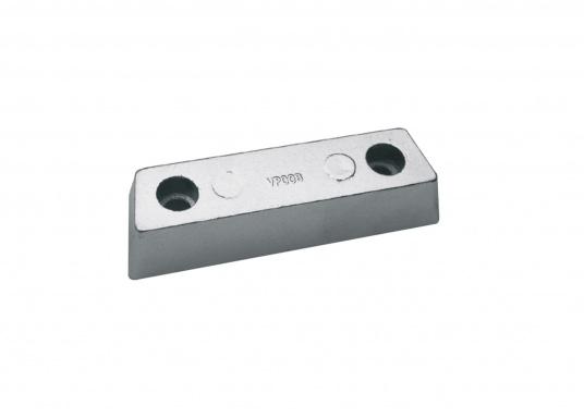 Passende Anoden für VOLVO PENTA Z-Antrieb der Serie 290. Erhältlich in Zink, Aluminium und Magnesium. Original Teilenummer: 852835.