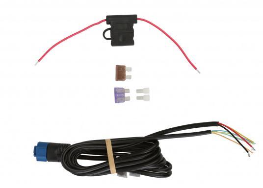 Das LOWRANCE Strom- / Datenkabel PC-30-RS422 eignet sich für die ELITE TI, HOOK und HDS Gen 2 Serien. Außerdem dient es zur Integration in ein NMEA0183-Netzwerk. (Bild 2 von 5)