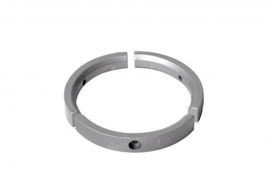 Passende Zinkanode für VOLVO PENTA mit einem 4-Blatt Propeller. Der Ring besteht aus drei einzelnen Teilen. Original Teilenummer: 3584442.