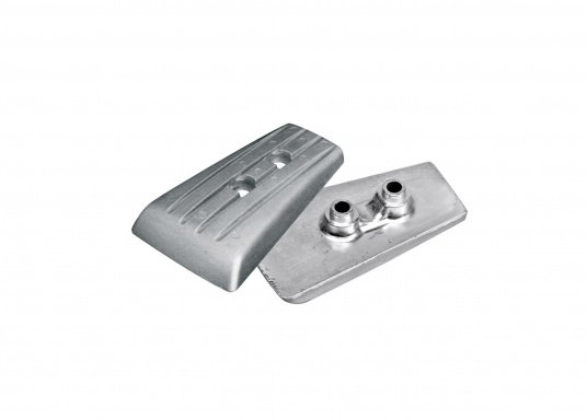 Passende Anoden für VOLVO PENTA Z-Antriebe der Serie DPH. Erhältlich in Zink, Aluminium und Magnesium. Original Teilenummer: 3588746.