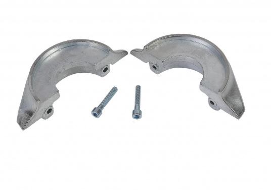 Passende Anoden für VOLVO PENTA-Saildrive 130 und 150. Erhältlich in Zink, Aluminium und Magnesium. Original Teilenummer: 3888305, 3586963, 22651246. (Bild 2 von 7)