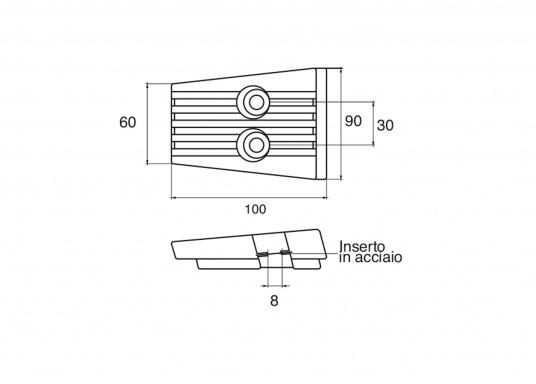 Passende Anoden für VOLVO PENTA Z-Antriebe der Serie SX-A und DPS-A. Erhältlich in Zink, Aluminium und Magnesium. Original Teilenummer: 3888817. (Bild 2 von 2)