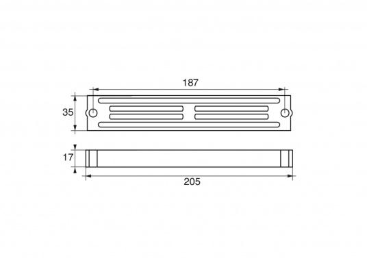 Passende Zinkanode für Yamaha - und Mariner Außenborder mit 60 und 90 PS. Original Teilenummer: 6H4-45251-01. (Bild 2 von 2)