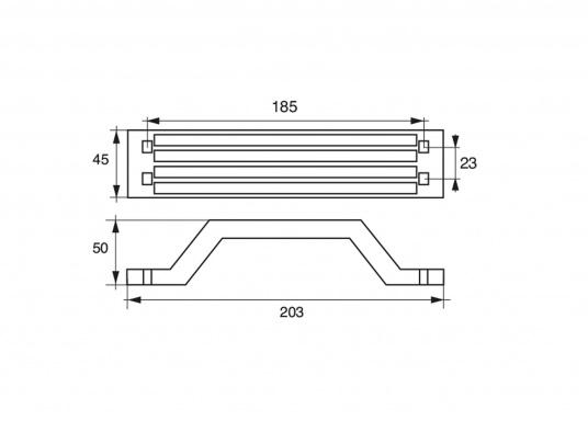 Passende Anoden für Yamaha- und Mariner Außenborder mit 115 und 225 PS. Erhältlich in Zink, Aluminium und Magnesium. Original Teilenummer: 6G5-45251-02. (Bild 2 von 2)