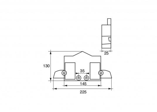 Passende Anoden für Yamaha- und Mariner Außenborder der Serie TD. Erhältlich in Zink, Aluminium und Magnesium. (Bild 2 von 2)