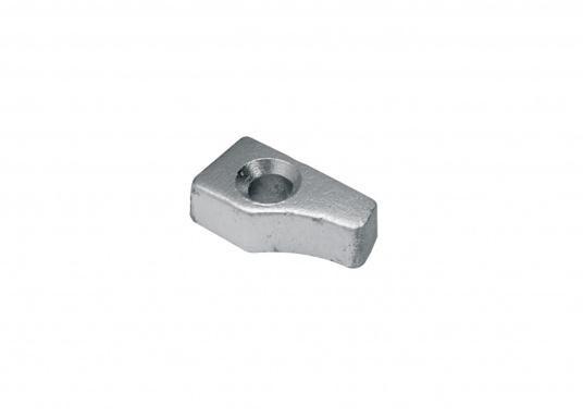 Zinc anode for Yamaha H25-H8 and Mariner H30-W8 motors. Part # 689-11325-00. (Image 1 of 2)