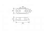 Anode Außenborder F-YA-31 für Yamaha & Mariner