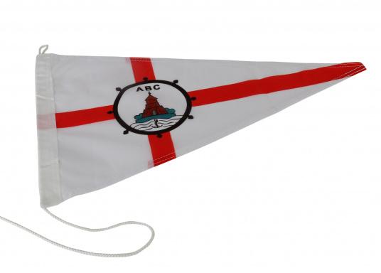 Vereinsstander, dreieckigeAusführung, desArtlenburger Boots Clubs e.V.Abmessungen: ca. 40 x 25 cm.