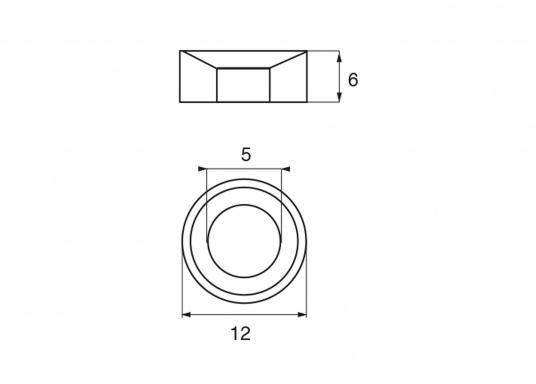 Passende Zinkanode für Yamaha und Mariner Außenborder. Original Teilenummer: 63P-11325-11. (Bild 2 von 2)
