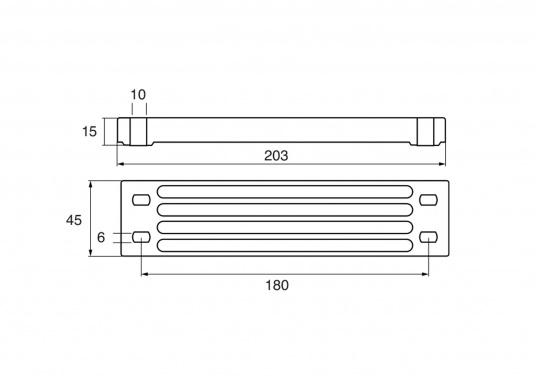 Passende Anode für Yamaha und Mariner Außenborder. Erhältlich in Zink, Aluminium und Magnesium. Original Teilenummer: 6AW45251-1. (Bild 2 von 2)