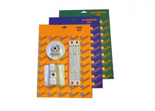 Anoden Set für Yamaha und Mariner Außenborder der Serie 300 - 350 XP. Erhältlich in Zink, Aluminium und Magnesium. Das Set beinhaltet die Bestandteile: YA073, YA074 und YA064.