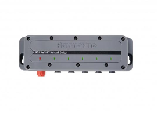 Der RayNet Netzwerkswitch (HS5) ermöglicht die Erweiterung des Netzwerks und verfügt über 5 RayNet-Anschlüsse.
