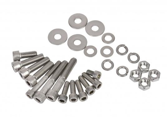 KIT B incl. screws and nuts for Lofrans windlasses. Available in various designs.
