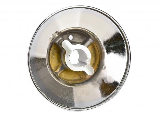 Für die Ankerwinde FALKON bieten wir Ihnen das Unterteil der Trommel an. Material aus bronze verchromt. (Bild 2 von 3)
