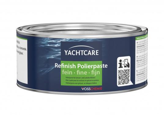 Wachs-, silikon- und ammoniakfreie Schleif- und Polierpaste für Gelcoat- und Lackoberflächen. Inhalt: 500 g.