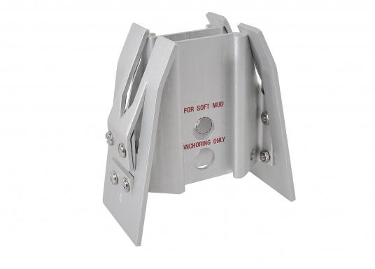 Der FORTRESS Anker wird aus einer hochfesten Aluminium-Magnesium-Legierung gefertigt. Diese sorgt für eine besonders starke Haltekraft bei äußerst geringem Gewicht. (Bild 7 von 8)