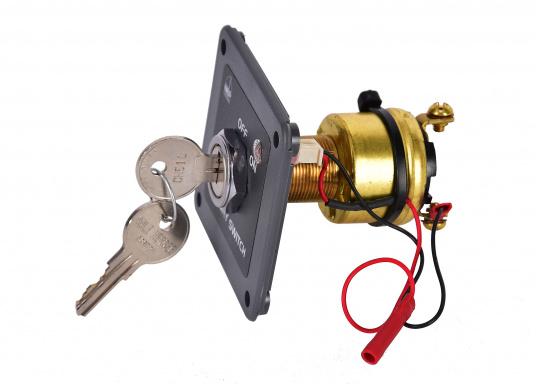 Das BEPMARINE Schaltpanel 722-KS ist ideal für Anwendungen geeignet, bei denen ein Schlüsselschalter benötigt wird. Betriebsfertig montiert und ausgerüstet mit einem ON/OFF-Schalter und einer LED-Betriebsanzeige. (Bild 2 von 4)