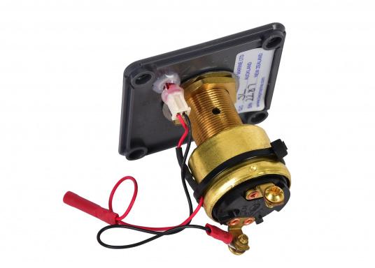 Das BEPMARINE Schaltpanel 722-KS ist ideal für Anwendungen geeignet, bei denen ein Schlüsselschalter benötigt wird. Betriebsfertig montiert und ausgerüstet mit einem ON/OFF-Schalter und einer LED-Betriebsanzeige. (Bild 3 von 4)