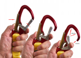 KONG - Lifeline, elastic / with two carabiners