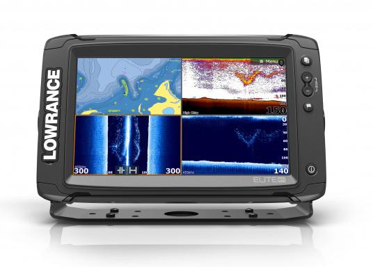 Lowrance® Elite-9Ti ist ein Touchscreen-Fischfinder/Kartenplotter, der eine breite Palette von Funktionen und Features bietet. (Bild 2 von 8)