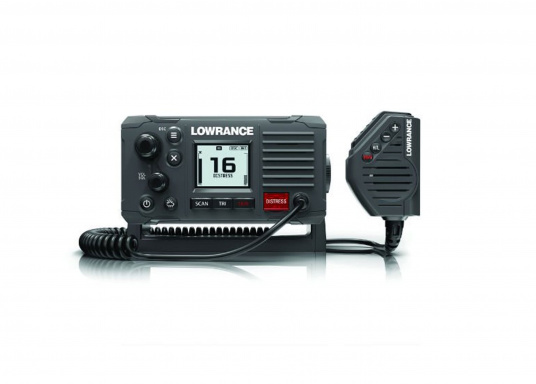 Communicate clearly with this reliable class D DSC approved marine radio. Featuring a four-button handset/microphone, intuitive control buttons and a front-mountable design for easy installation onboard.
