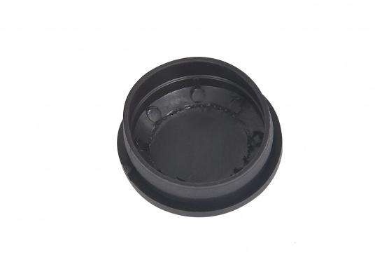 Originale Bavaria Abdeckkappe für Schaltgetriebe mit Niro-Hebel, 9 Grad in schwarz. Höhe: 10 mm. (Bild 2 von 3)