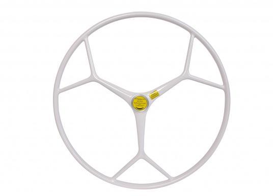 Das originale Sportsteuerrad aus glasfaserverstärkten Kunststoff für Ihre BAVARIA Yacht überzeugt mit einer hervorragenden Funktionalität und einem zeitlos schönen Design. (Bild 5 von 5)