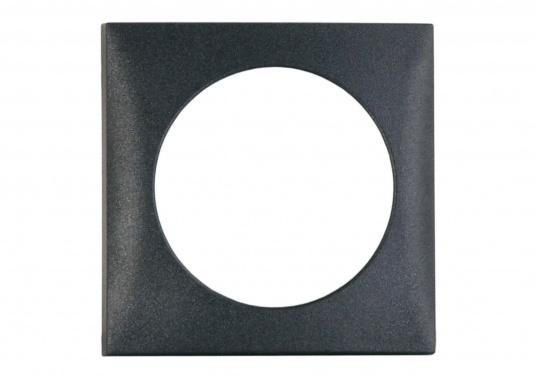 Passender Abdeckrahmen für Ihre BAVARIA Steckdosen an Bord. Abmessungen: 59,5 x 59,5 mm. Farbe: schwarz.