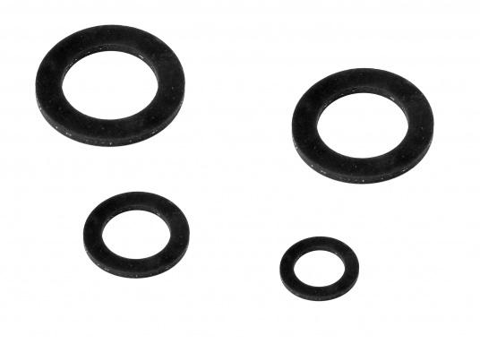 50 Noir x 7 mm /Ø ext/érieur 5 mm diam/ètre int/érieur Caoutchouc Nitrile joints d/étanch/éit/é pour r/éservoir /à huile