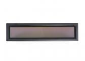 Flush Portlight fixed (Rumpf) NC / 600 x 150 mm