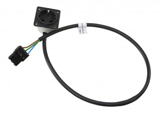 Originaler Kabelsatz bestehend aus einem Stecker und einer Steckdose für Ihre Yacht von BAVARIA. Kabellänge: 700 mm.