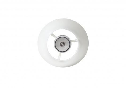 Die originale Schirmlampe von Bavaria überzeugt durch die Funktion, dass die Stange aus rostfreien Edelstahl in der Höhe verstellbar ist. Die Lampe ist ideal für Ihre Tisch- oder Cockpitbeleuchtung geeignet. Spannung: 12 V. (Bild 3 von 4)