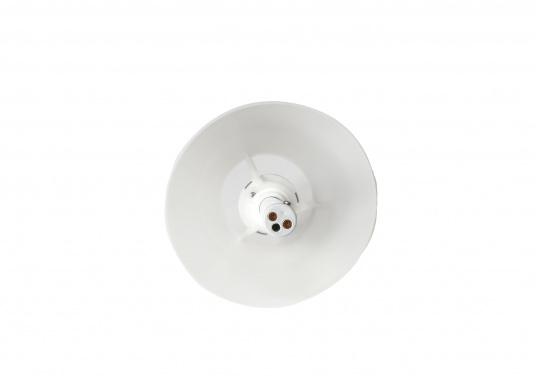 Die originale Schirmlampe von Bavaria überzeugt durch die Funktion, dass die Stange aus rostfreien Edelstahl in der Höhe verstellbar ist. Die Lampe ist ideal für Ihre Tisch- oder Cockpitbeleuchtung geeignet. Spannung: 12 V. (Bild 4 von 4)