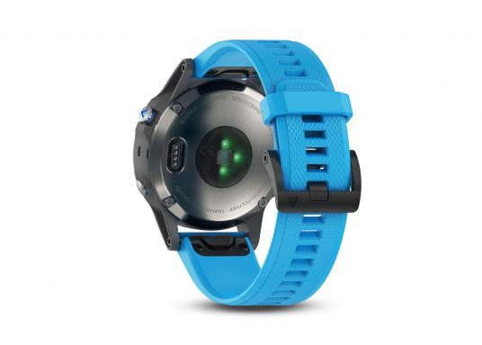 Die Smart-Watch die perfekt für den Wassersport geeignet ist. (Bild 3 von 6)