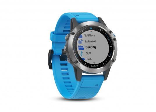 Die Smart-Watch die perfekt für den Wassersport geeignet ist. (Bild 2 von 6)