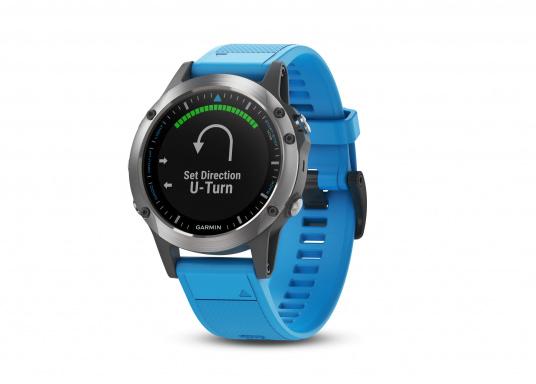 Die Smart-Watch die perfekt für den Wassersport geeignet ist.