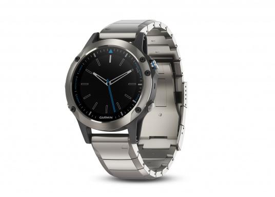 La Smartwatch Garmin QUATIX 5 Edition Saphir est conçue spécialement pour la navigation.