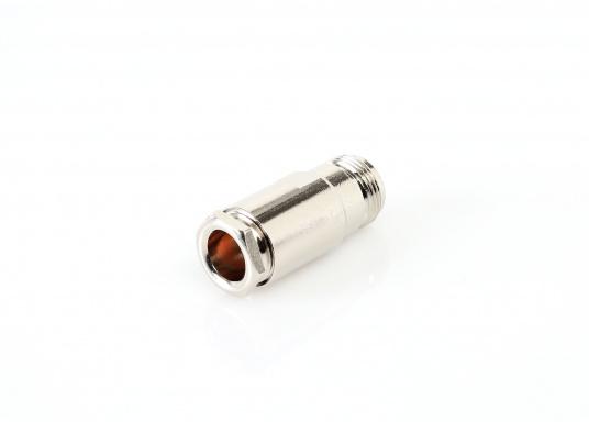 Connecteur TNC mâle droit pour câble RG213, raccord à souder (Image 2 de 4)