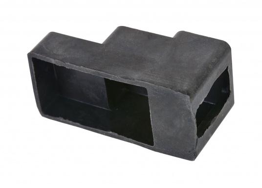 Originale Bavaria Batteriepol-Abdeckung aus Gummi zum Schutz der Batterieanschlüsse vor Verschmutzung und insbesondere als Kontaktschutz zur Vorbeugung von Kurzschlüssen. (Bild 2 von 2)