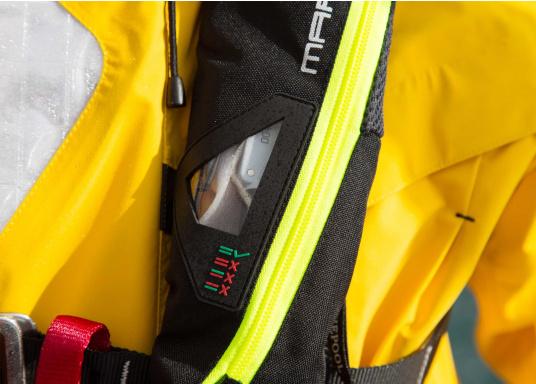 Ultraleichte und kompakte Automatikweste, speziell für Sportsegler und Motorbootfahrer in küstennahen Gebieten und im Hochseebereich. (Bild 13 von 17)
