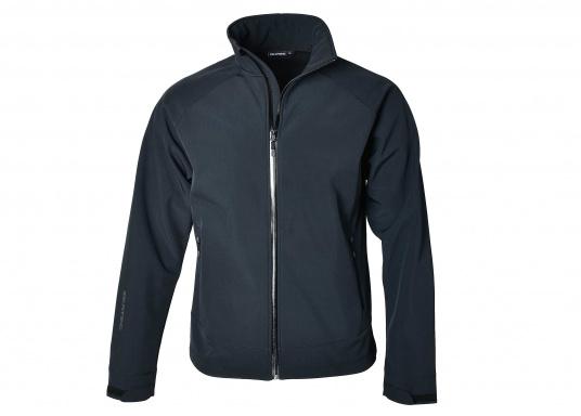 Die sportliche SEATEC Softshell-Jacke ist atmungsaktiv und bietet hohen Tragekomfort. Das Außenmaterial ist wind- und wasserabweisend.