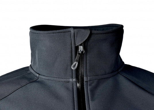Die sportliche SEATEC Softshell-Jacke ist atmungsaktiv und bietet hohen Tragekomfort. Das Außenmaterial ist wind- und wasserabweisend. (Bild 6 von 11)