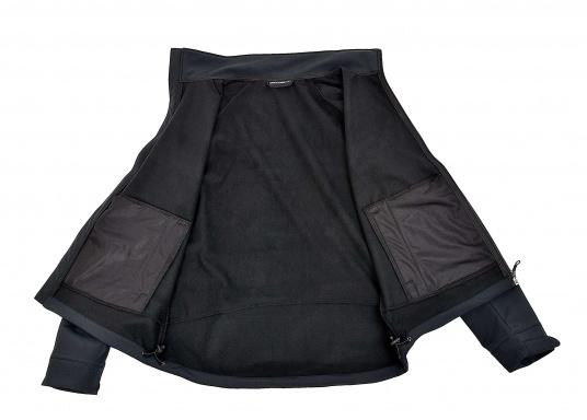 Die sportliche SEATEC Softshell-Jacke ist atmungsaktiv und bietet hohen Tragekomfort. Das Außenmaterial ist wind- und wasserabweisend. (Bild 11 von 11)