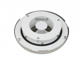 Deck ventilator with stainless steel cap