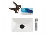 Lock for Companionway Door, white