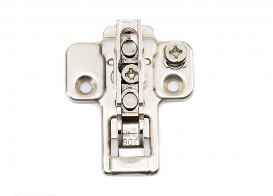 Originale Clip-On Scharniere und dazugehörige Montageplatten von Bavaria. Erhältlich in verschiedenen Ausführungen.  (Bild 34 von 36)