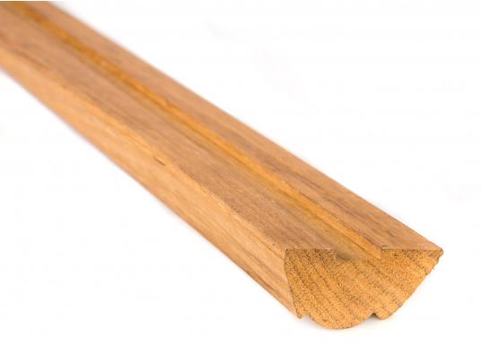 Originale Scheuerleiste aus Teak für Ihre Yacht von BAVARIA. Die Scheuerleiste ist ca. 2 m lang. (Bild 2 von 2)