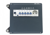 Shore power connection panel 230 V for motoryachts