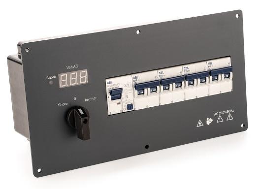 BAVARIAAC-Verteiler inkl. Inverteingang 230 V.